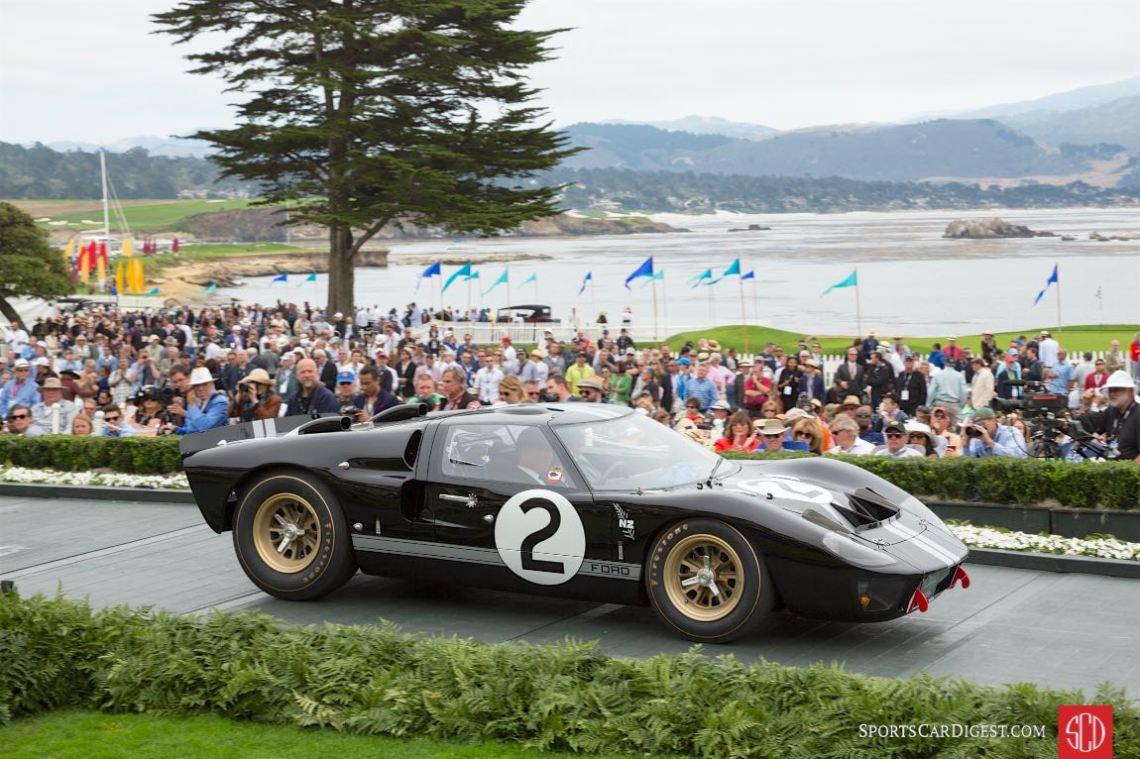 Class W: Ford GT40 Victory at Le Mans 50th Anniversary, 1966 Ford GT40 P/1046 Mk II, Robert Kauffman, Charlotte, North Carolina