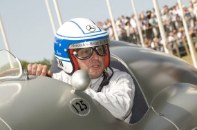 Jochen Mass at Goodwood Festival of Speed