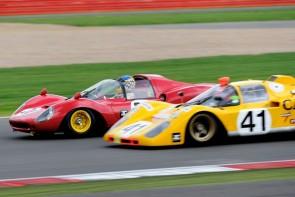 Ferrari 512 at Silverstone Classic