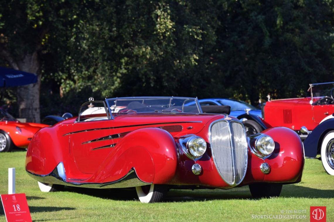 1939 Delahaye Type 165 Figoni et Falaschi Cabriolet 'World's Fair Car'