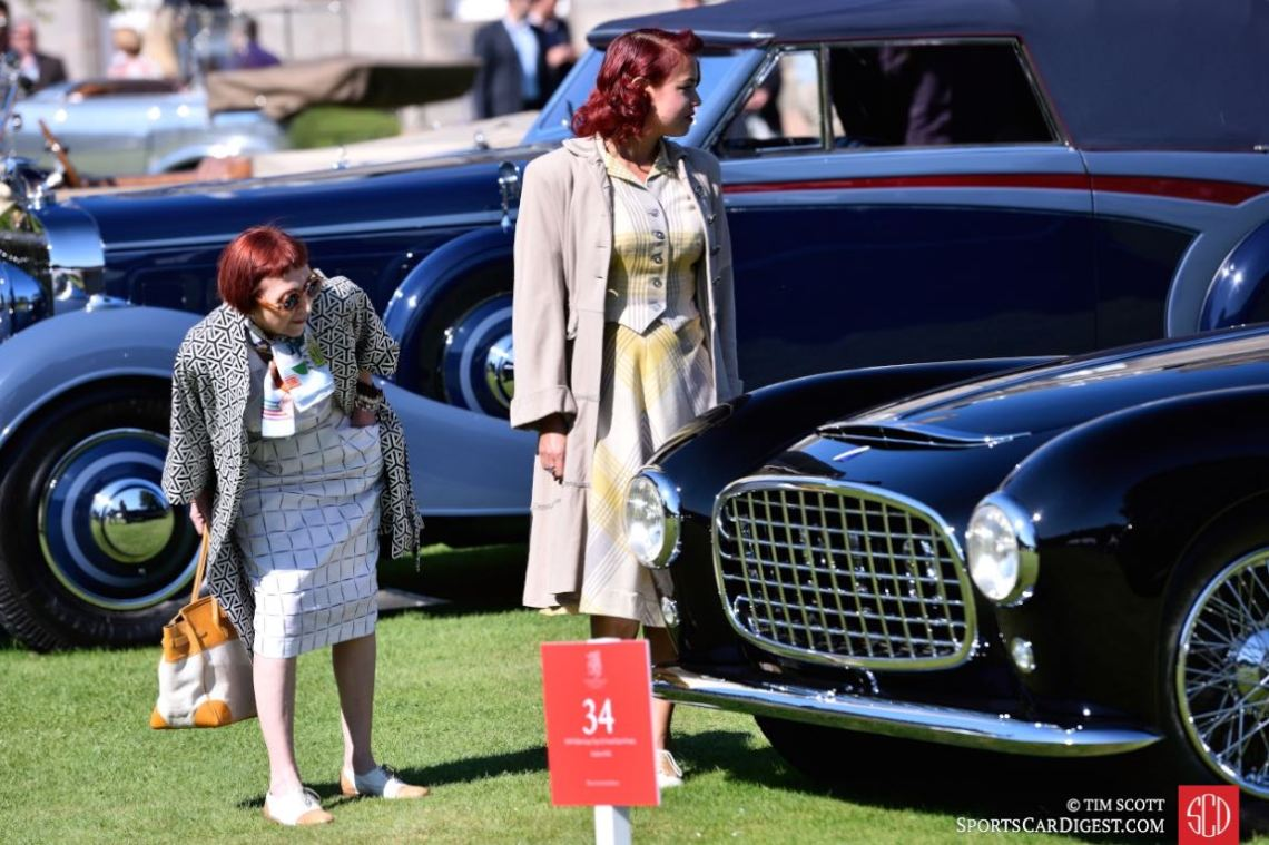 Curiosity for the 1949 Talbot Lago Type 26 Gran Sport by Franay