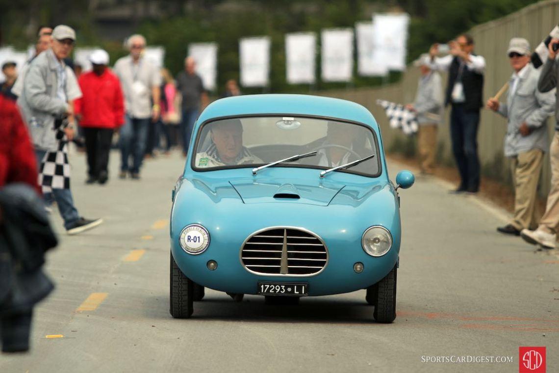 Fiat 500 Bizzarrini Macchinetta was first car designed by Giotto Bizzarrini