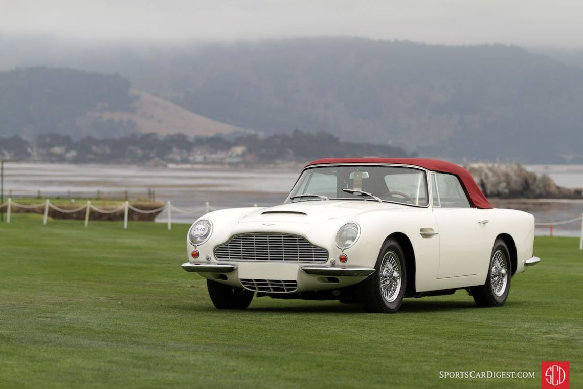 1963 Aston Martin DB5 Touring Convertible