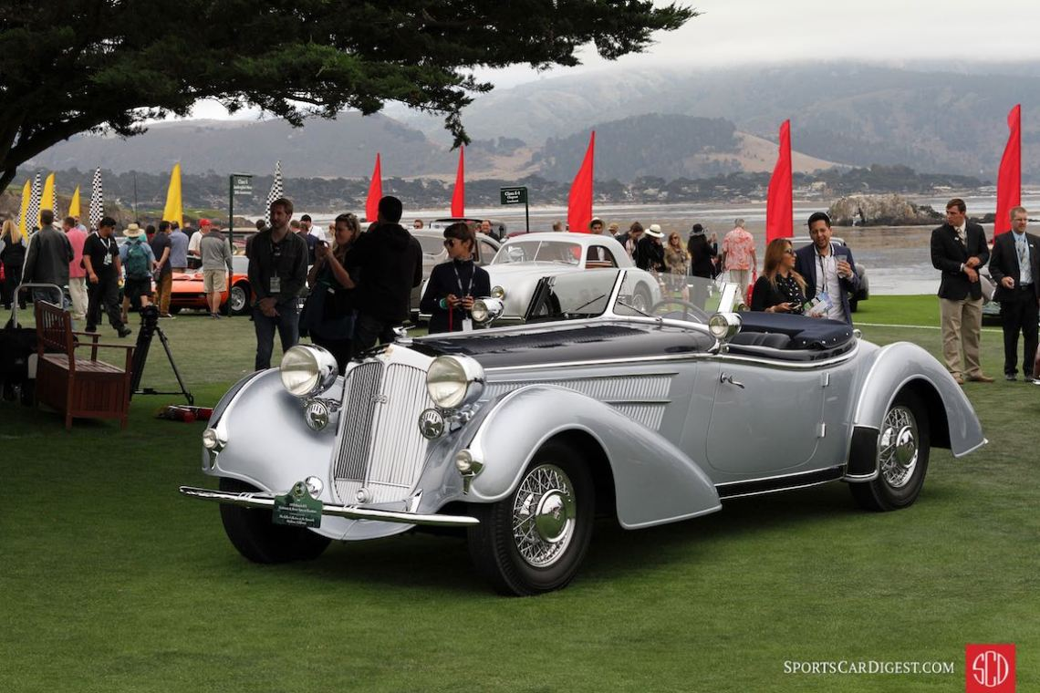 1938 Horch 853 Erdmann and Rossi Special Roadster