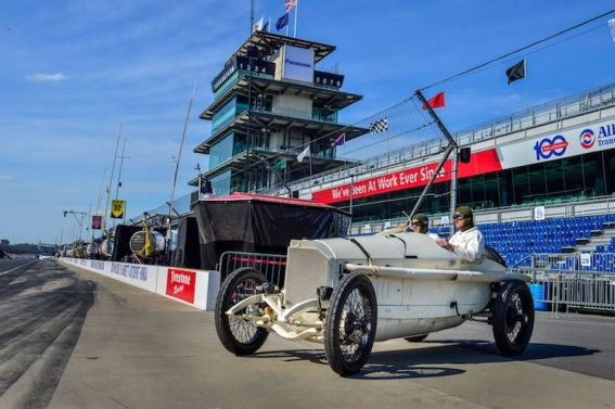 On 24 May 2015, almost exactly 100 years after Ralph DePalma's great triumph, a Mercedes Grand Prix racing car rounded the famous oval circuit as a pre-event for the Indianapolis 500.