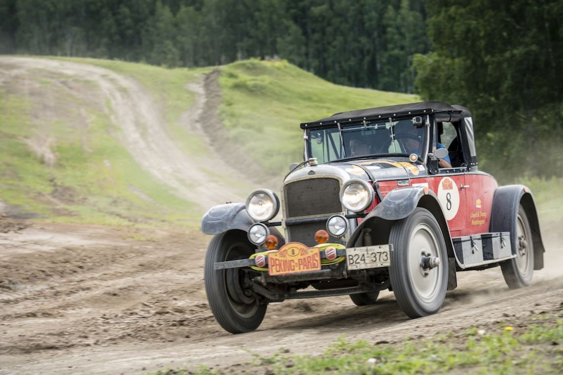 Car 08. Lloyd Reddington(CAN) / Treacy Reddington(CAN)1927 - American Nash3700, Peking to Paris 2016., Peking to Paris 2016. Day 17. Tyumen - Ekaterinberg