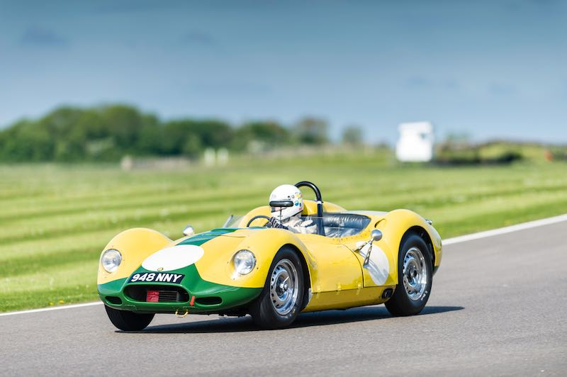 Lister Jaguar Knobbly, Benjafield's Sprint at Goodwood, May 2015