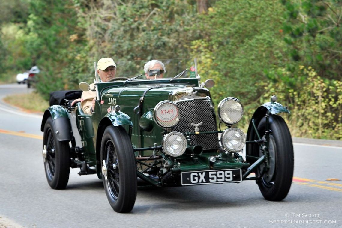 1929 Aston Martin 1.5 Litre LM3 Works Team Car