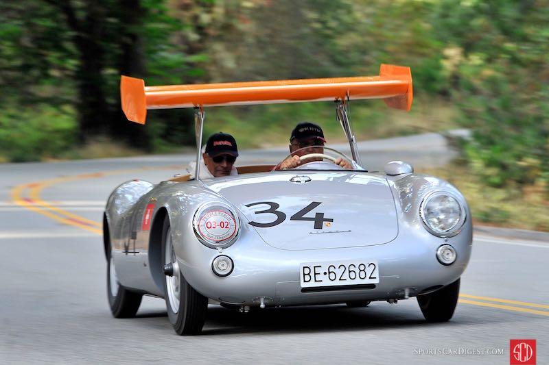 Porsche Spyder 550 >> Winged Porsche 550 Spyder At 2015 Pebble Beach Concours