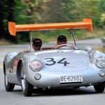 Winged Porsche 550 Spyder at 2015 Pebble Beach Concours