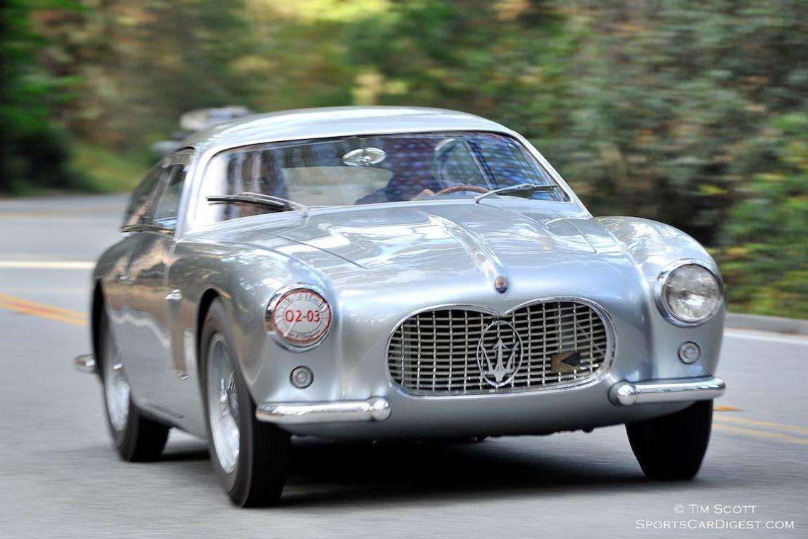 1955 Maserati A6G 2000 Zagato Coupe