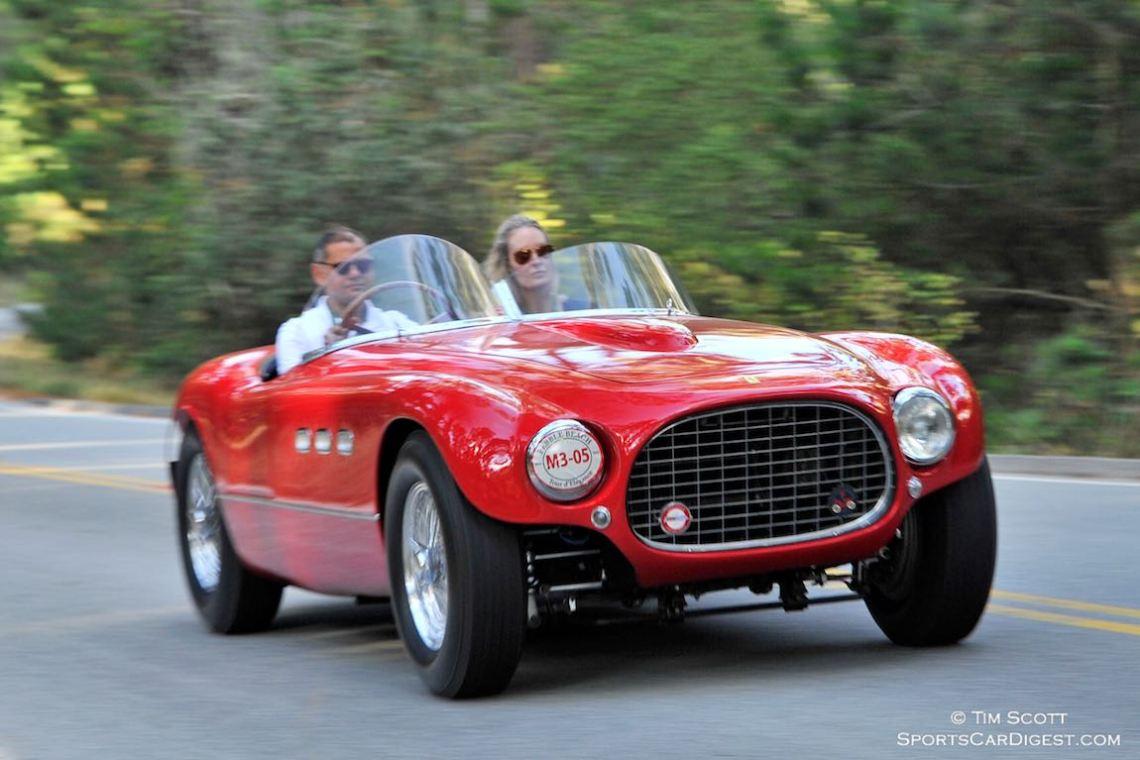 1953 Ferrari 340 MM Vignale Spider