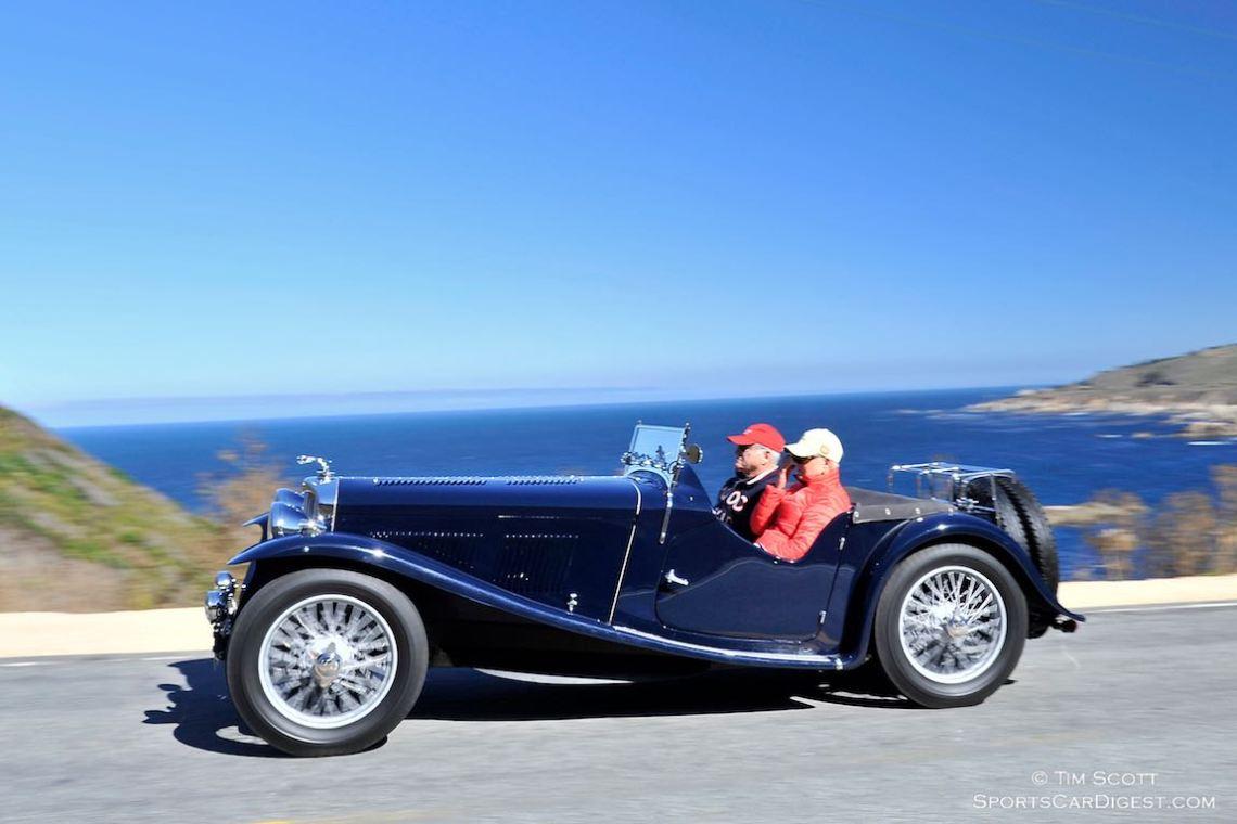 1937 Jaguar SS 100 Roadster
