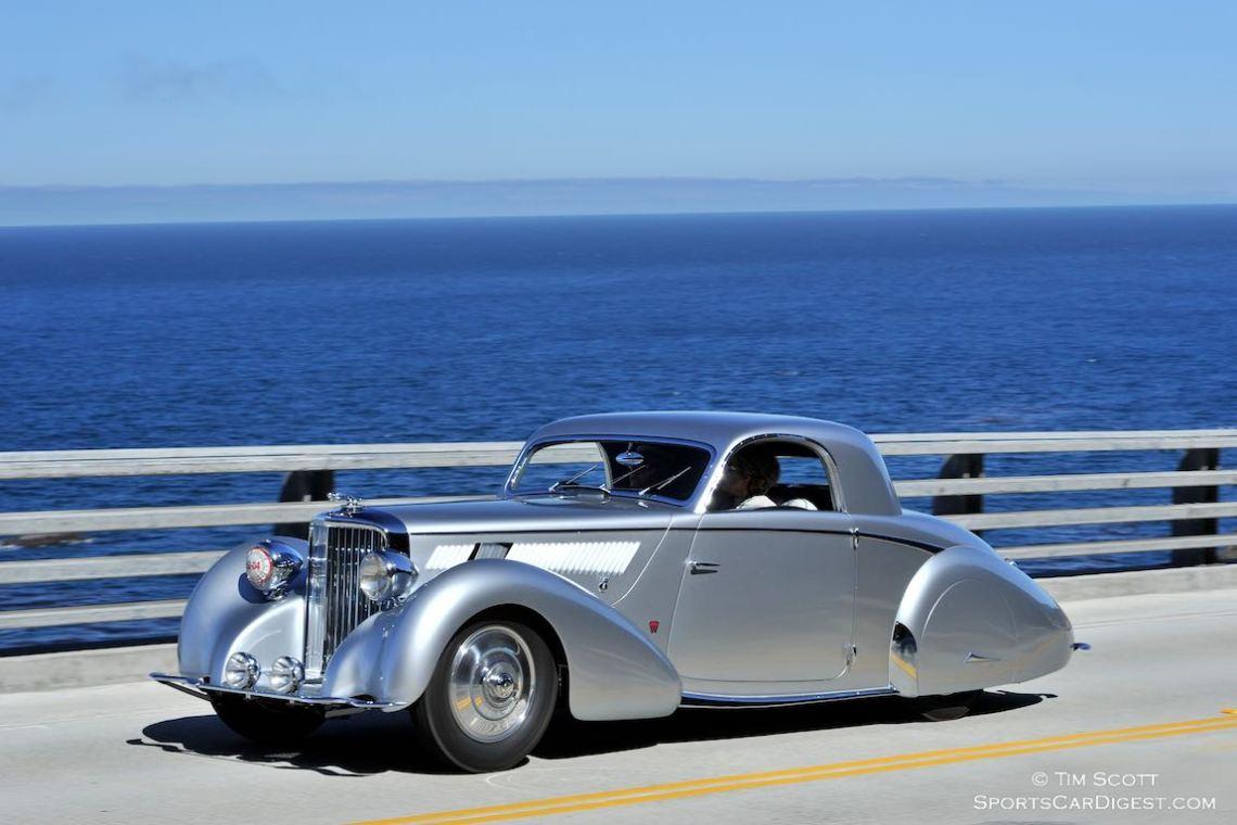 1938 Jaguar SS 100 Graber Coupe