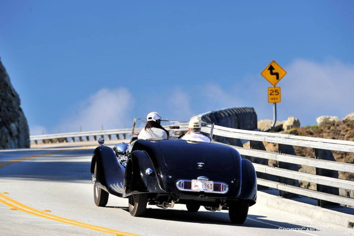 1938 Alvis Speed 25 Offord and Sons Open Two Seater