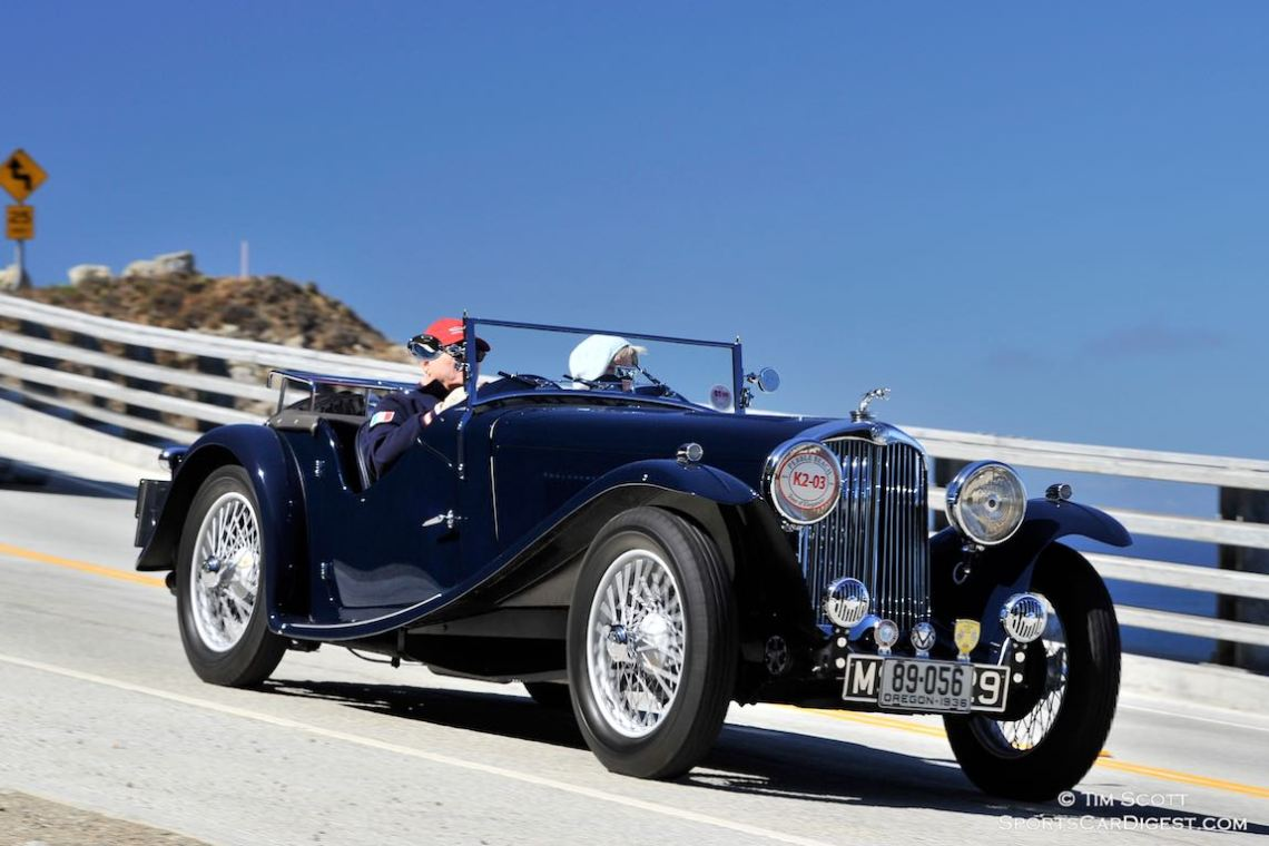 1936 AC 16/80 Competition Sports Roadster