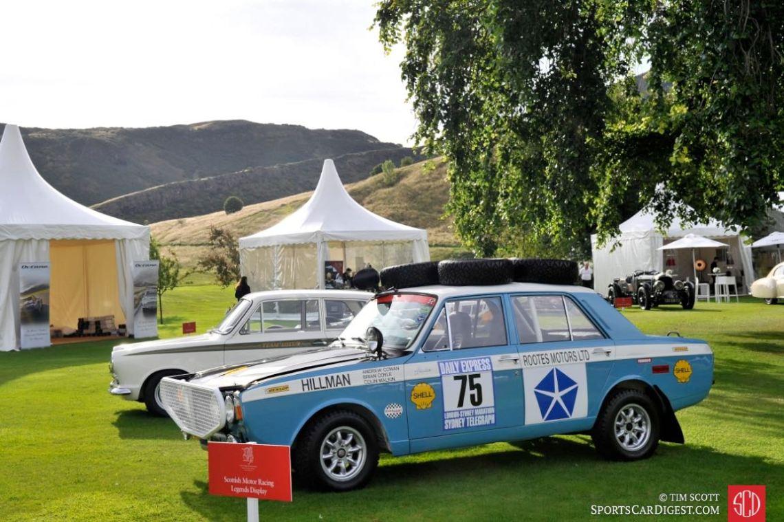 Scottish Motor Racing Legends Display