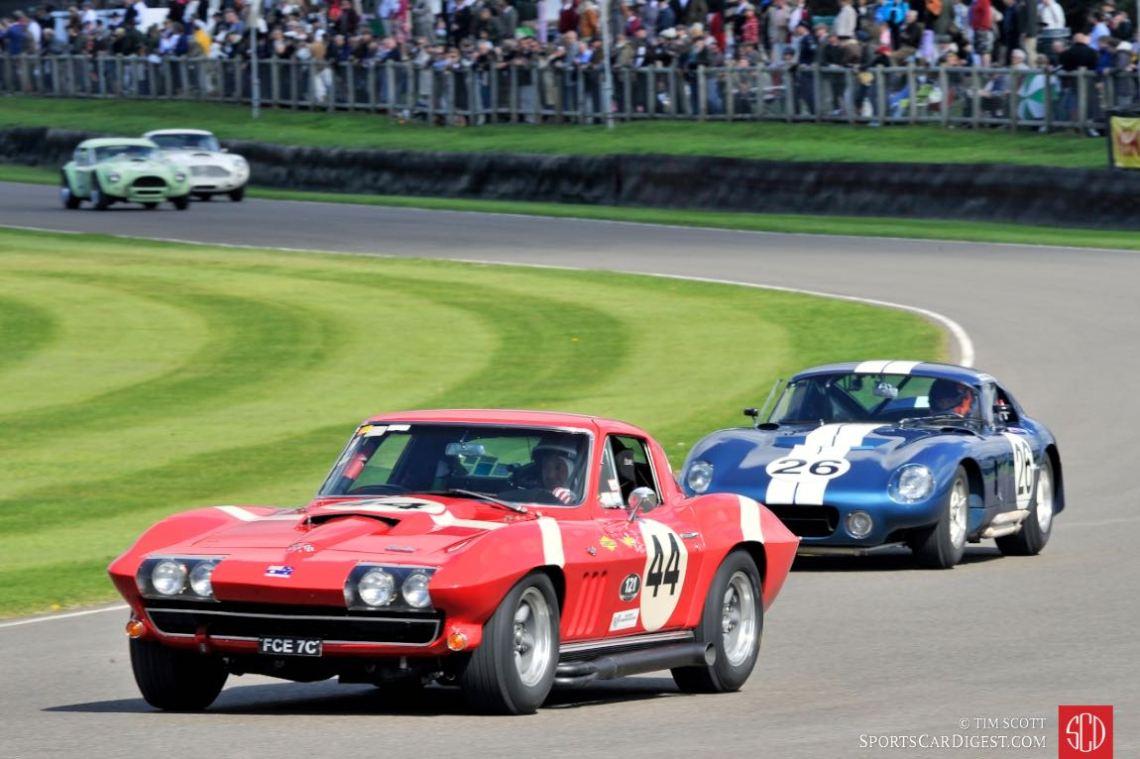1966 Chevrolet Corvette Sting Ray and 1965 Shelby Daytona Cobra Coupe