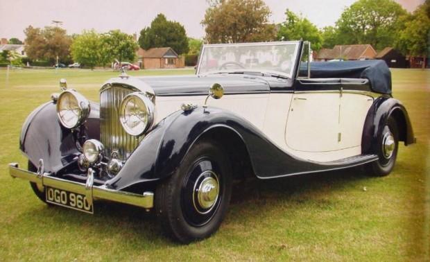 1937 Bentley 4 1/4 Liter Allweather Convertible, Body by Van den Plas