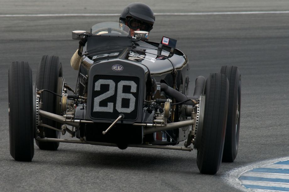 Peter Giddings debuts his 1926 Delage 15-S-8. Straight eight, supercharge - what a sound!