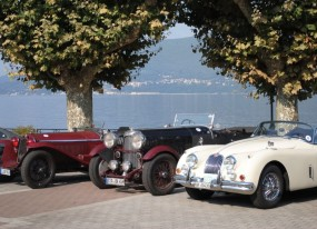 Alfa Romeo, Lagonda and Jaguar at Lonville Classic 2010