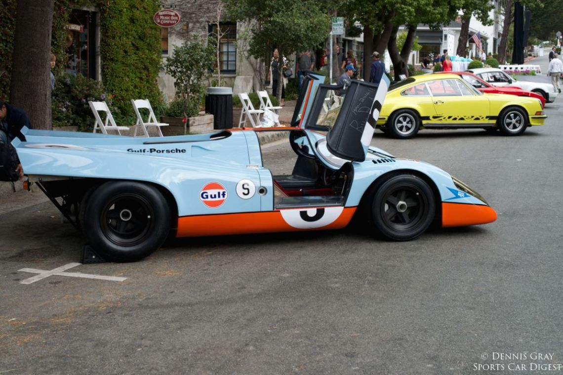 Bruce Canepa's 917K 017 before the crowds.