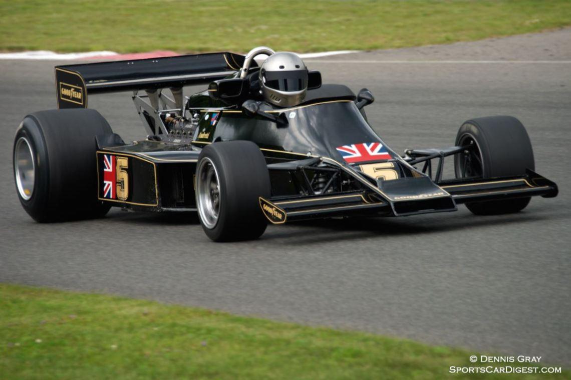 Chris Locke - 1976 Lotus 77.