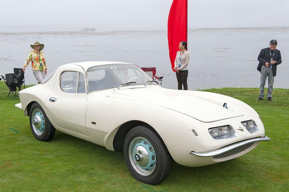 1957 BMW 507 Loewy Pichon et Parat Coupe