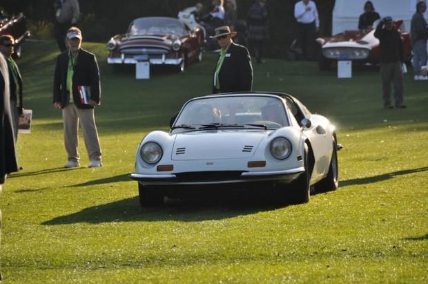 Ferrari 246 GTS Cannonball Run Car at Amelia Island Concours