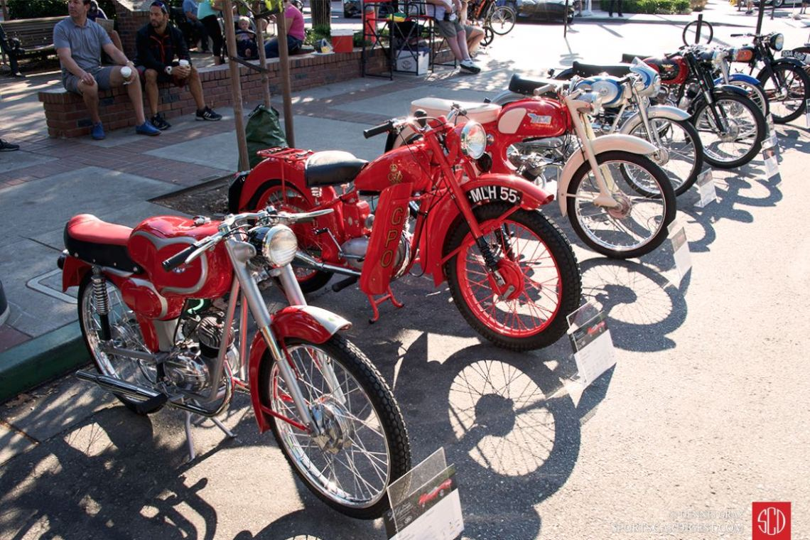 The 2015 Danville Concours featured a nice collection of motorcycles.
