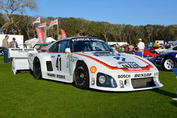 1979 Porsche 935 K3 at Amelia Island Concours (photo: Sports Car Digest)