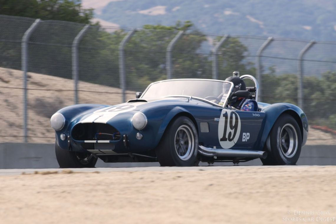 Jim Click's 1964 Shelby Cobra.