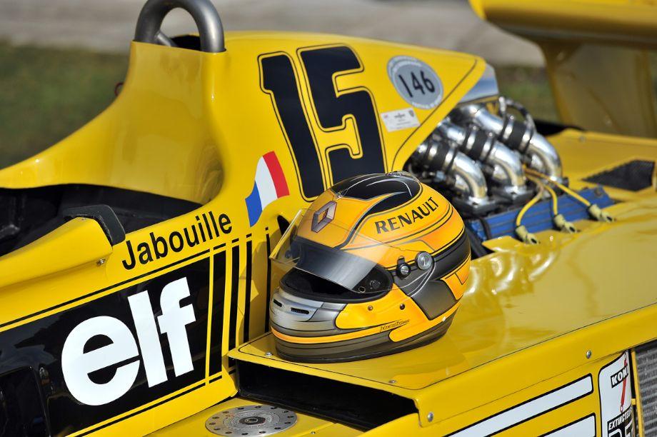 Ex-Jean-Pierre Jabouille 1977 Renault RS 01 Formula 1