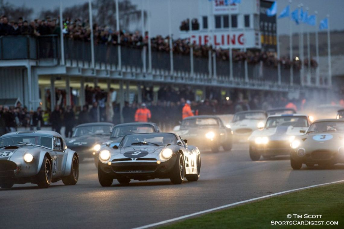 Graham Hill Trophy Race - Goodwood Members Meeting 2015