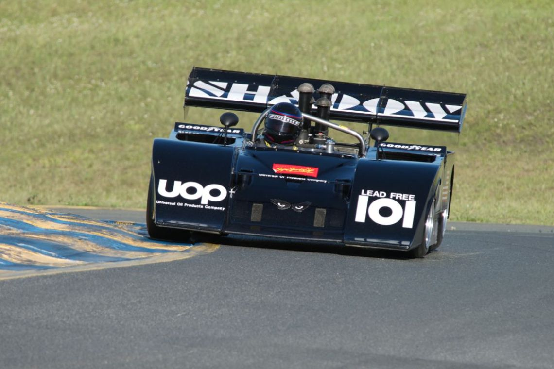 Fred Cziska's Shadow Mk.111 in turn two. Dig the eyes.