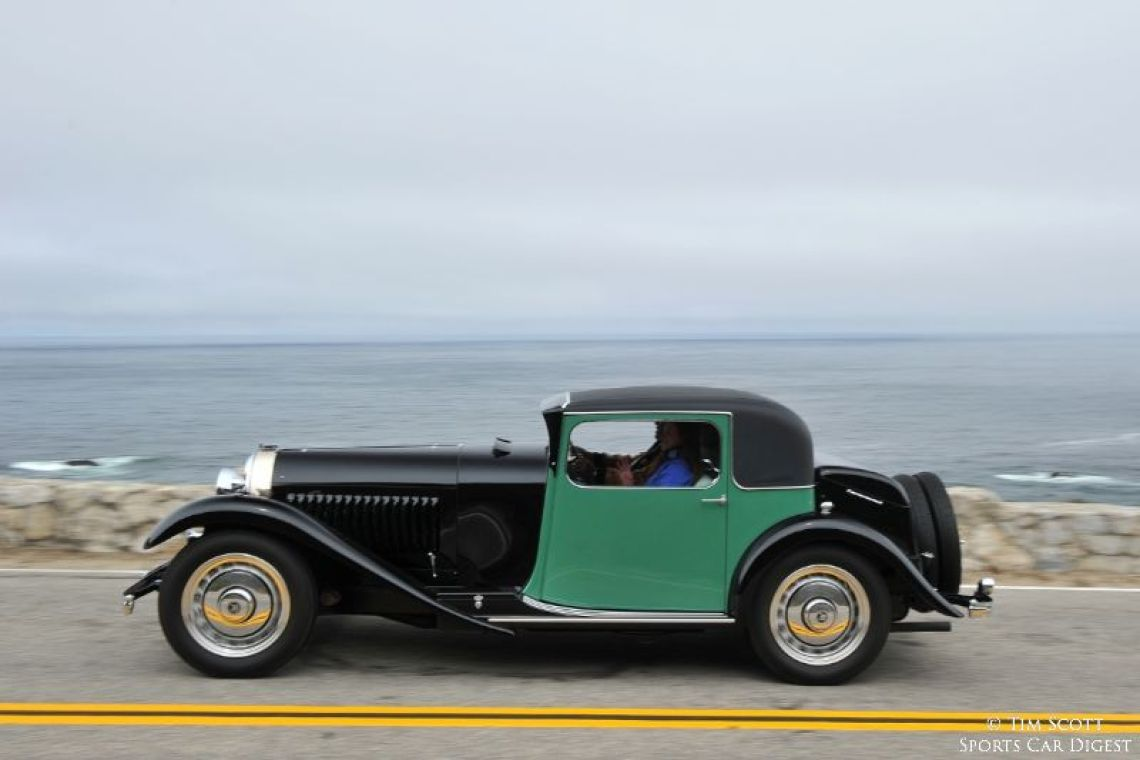1931 Bugatti Type 50 Million-Guiet Coupe
