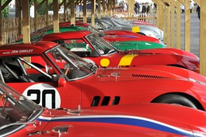 Ferrari 250 GTO Celebrated at Goodwood Revival