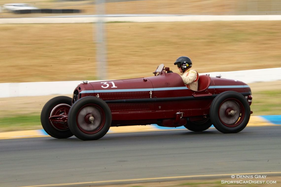 Peter Giddings' 1932 Alfa Romeo 8C Monza