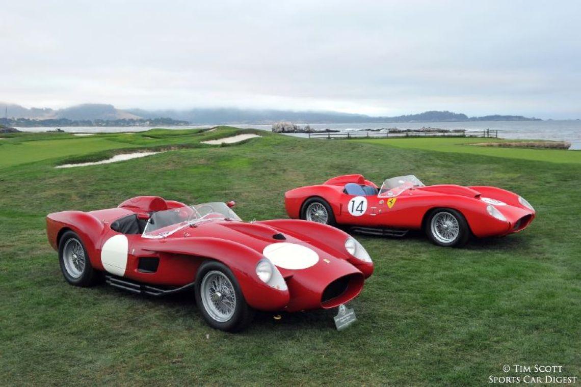 1958 Ferrari 250 Testa Rossa Scaglietti Spider 0742TR and 1958 Ferrari 250 Testa Rossa Scaglietti Spider 0728TR