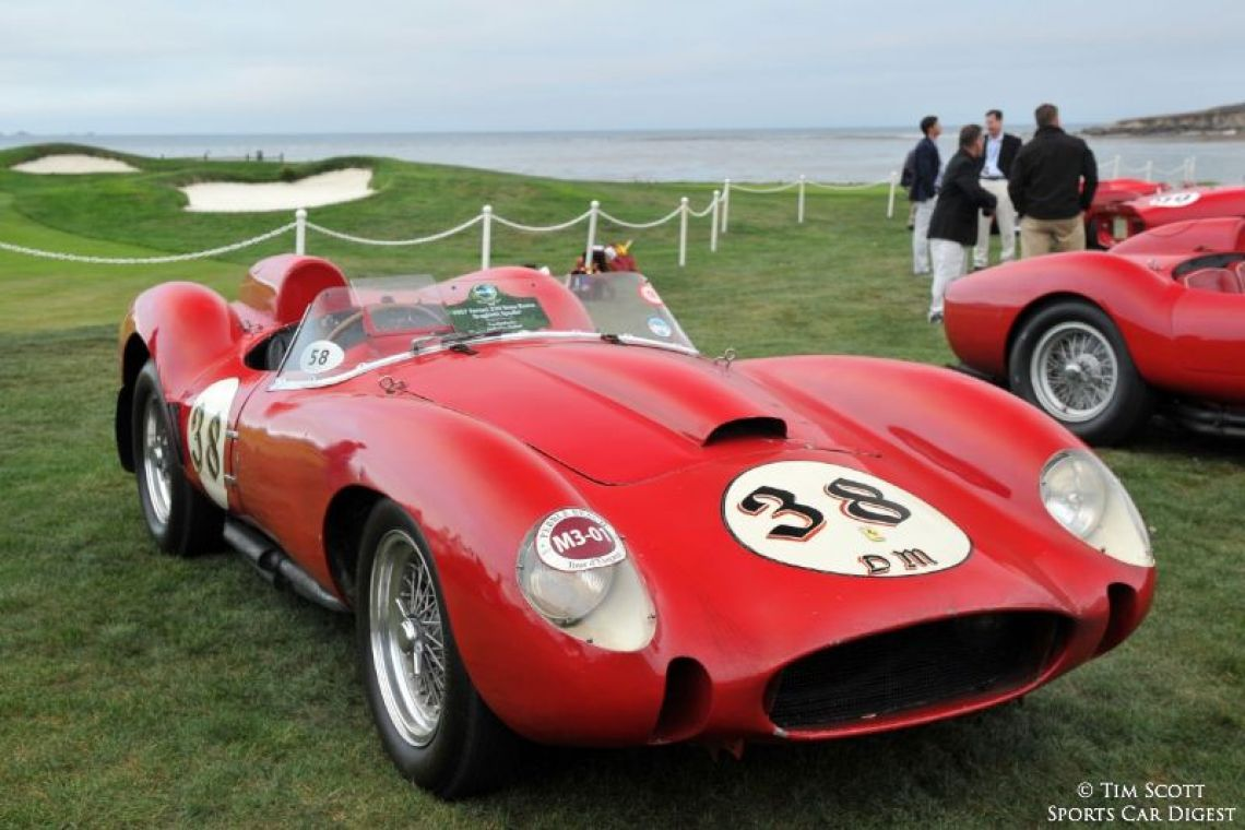 1957 Ferrari 250 Testa Rossa Scaglietti Spider 0704TR, the only TR to remain unrestored with its original engine, gearbox and bodywork