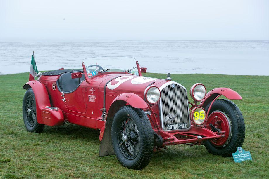 1932 Alfa Romeo 8C 2300 Touring Le Mans Race Car