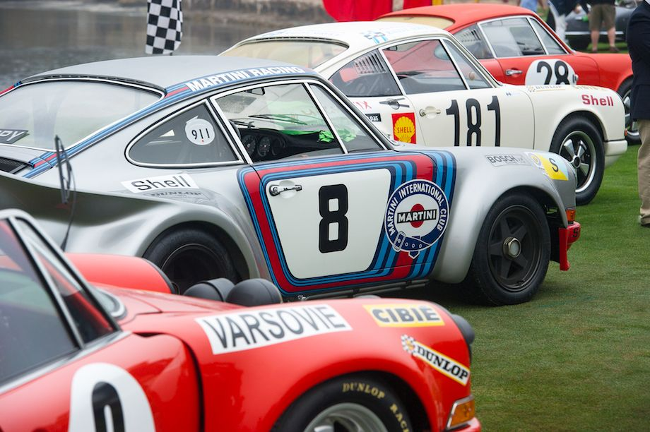 Porsche 911 Competition at Pebble Beach Concours