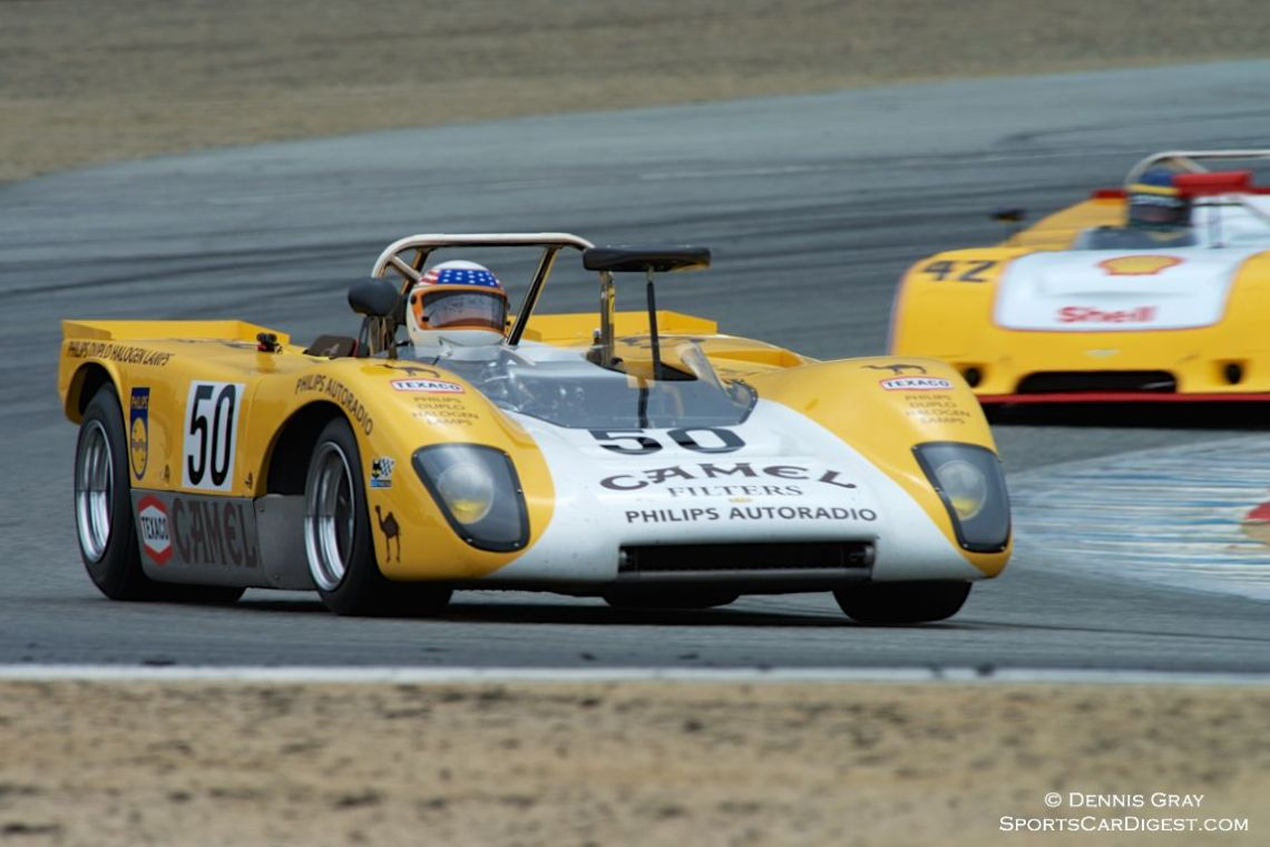 John Delane out for the first time in his Lola T212.