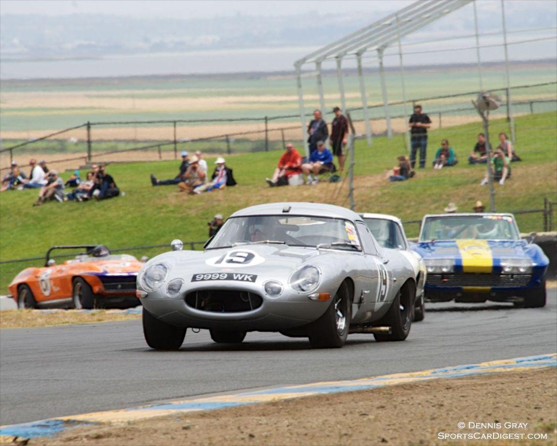 Nick Colonna's 1963 Jaguar E-Type Low Drag Coupe