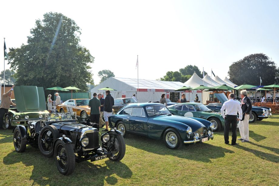 1932 Aston Martin Le Mans and 1957 Aston Martin DB2/4 MkIII