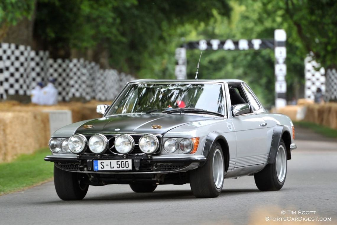 1980 Mercedes-Benz 500 SLC rally car