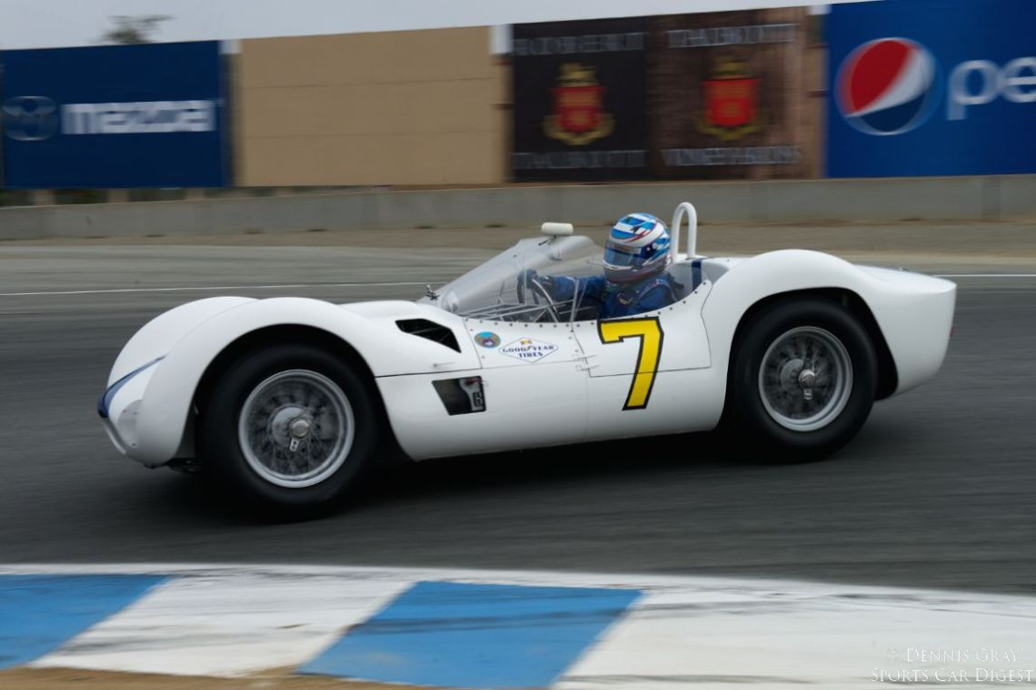 11960 Maserati Tipo 61 driven by Jonathan Fiber.
