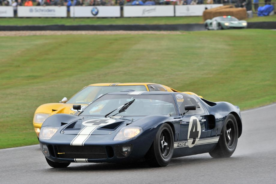 Goodwood Revival 2013  Ford GT40 Race Photos Results Report