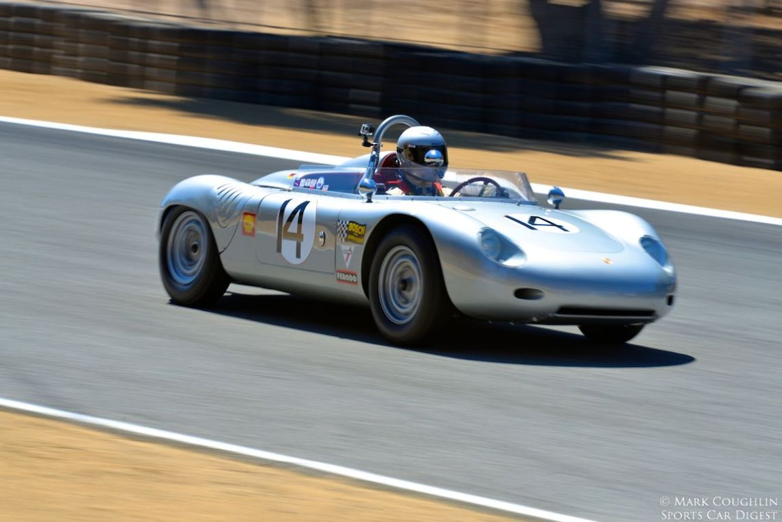 1960 Porsche RS 60 Spyder of William Lyons