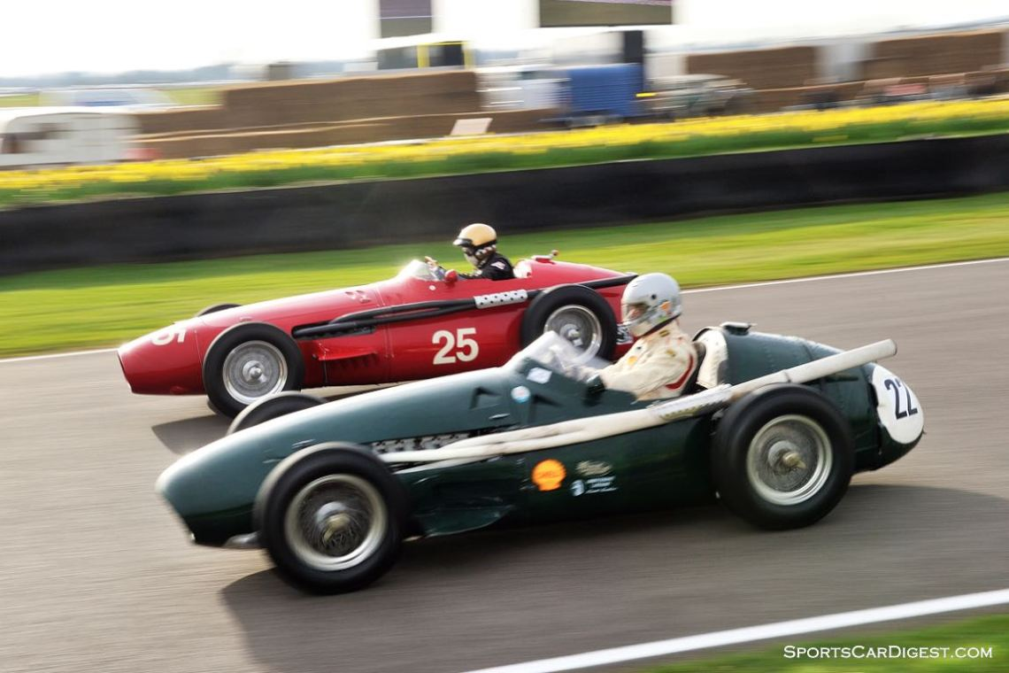 Pair of Maserati 250F at Goodwood